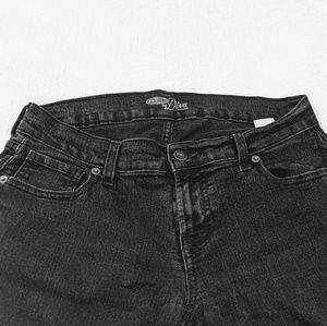 Old Navy Diva jeans, black size 6